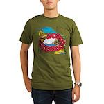 OYOOS Travel Vacation design Organic Men's T-Shirt