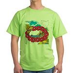 OYOOS Travel Vacation design Green T-Shirt