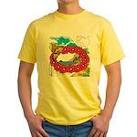 OYOOS Travel Vacation design Yellow T-Shirt