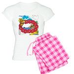 OYOOS Travel Vacation design Women's Light Pajamas