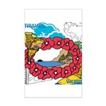 OYOOS Travel Vacation design Mini Poster Print