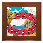 OYOOS Travel Vacation design Framed Tile