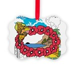 OYOOS Travel Vacation design Picture Ornament