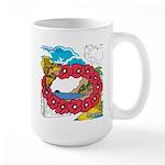 OYOOS Travel Vacation design Large Mug
