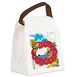 OYOOS Travel Vacation design Canvas Lunch Bag