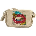 OYOOS Travel Vacation design Messenger Bag