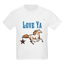 OYOOS Horse Love Ya design T-Shirt