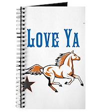OYOOS Horse Love Ya design Journal