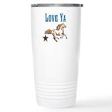 OYOOS Horse Love Ya design Travel Mug