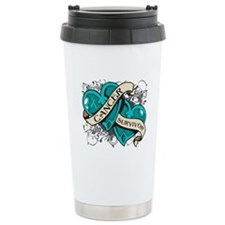 Ovarian Cancer Survivor Travel Mug