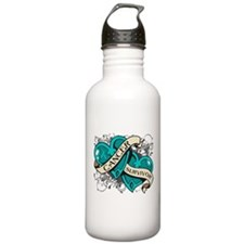 Ovarian Cancer Survivor Water Bottle