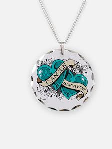 Ovarian Cancer Survivor Necklace