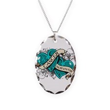 Ovarian Cancer Survivor Necklace