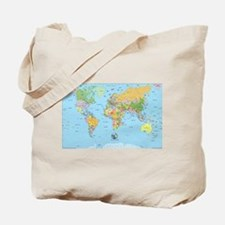 the small world Tote Bag