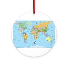 the small world Ornament (Round)