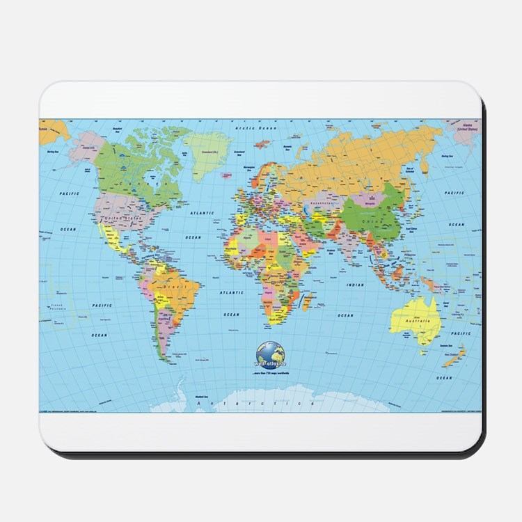 the small world Mousepad