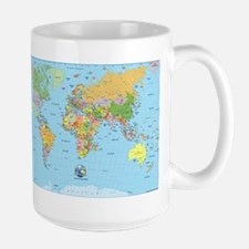 the small world Large Mug