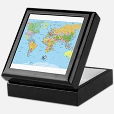 the small world Keepsake Box