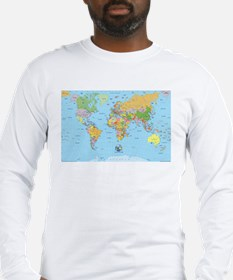 the small world Long Sleeve T-Shirt