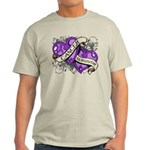 Pancreatic Cancer Survivor Light T-Shirt