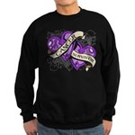 Pancreatic Cancer Survivor Sweatshirt (dark)
