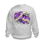 Pancreatic Cancer Survivor Kids Sweatshirt