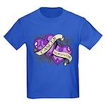 Pancreatic Cancer Survivor Kids Dark T-Shirt