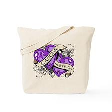 Pancreatic Cancer Survivor Tote Bag