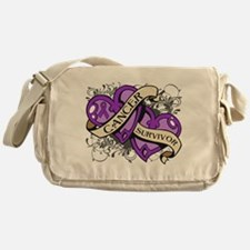 Pancreatic Cancer Survivor Messenger Bag