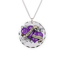 Pancreatic Cancer Survivor Necklace