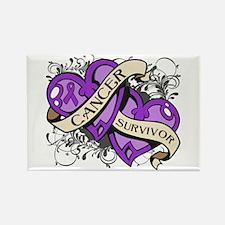 Pancreatic Cancer Survivor Rectangle Magnet
