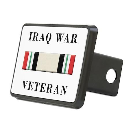 Iraq War Veterans Rectangular Hitch Cover