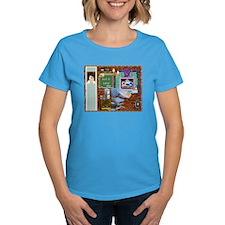 Labor Day Weekend Women Dark T-Shirts