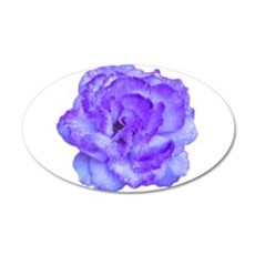Wendy Purple Rose 20x12 Oval Wall Decal