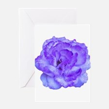 Wendy Purple Rose Greeting Card