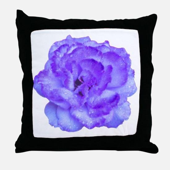 Wendy Purple Rose Throw Pillow