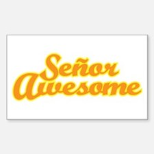 Señor Awesome Decal