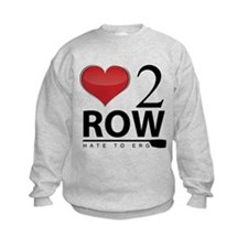 Love 2 Row Sweatshirt