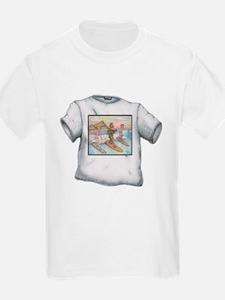 Tom Kat Carson A Cat's Just Gotta Surf! T-Shirt