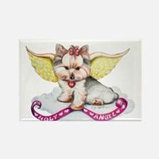 Holly Angel Holly Rectangle Magnet