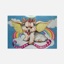 Holy Angel Rectangle Magnet