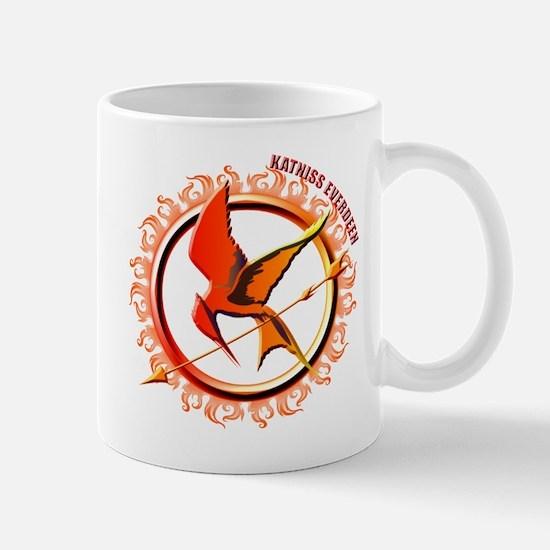 Katniss Everdeen the Girl Who Was on Fire Mug
