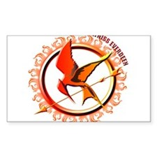 Katniss Everdeen the Girl Who Was on Fire Decal