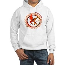 Katniss Everdeen the Girl Who Was on Fire Hoodie