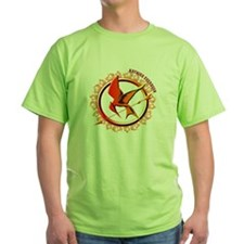 Katniss Everdeen the Girl Who Was on Fire T-Shirt
