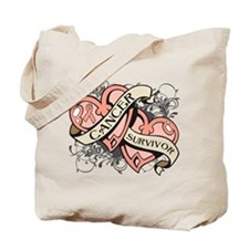 Uterine Cancer Survivor Tote Bag