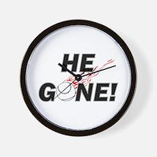 He Gone! Wall Clock