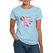 Pink Breast Cancer Warrior T-Shirt