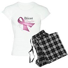 Pink Breast Cancer Warrior Pajamas