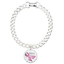 Pink Breast Cancer Warrior Bracelet